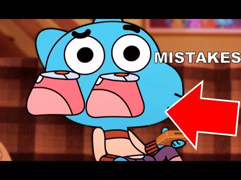 Gumball Mistakes That Slipped Through Editing