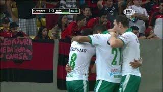 Copa Libertadores. Sexta jornada, grupo 7. Flamengo (BRA) 2 - 3 León (MÉX). Goles: 0-1, m.21: Franco Arizala. 1-1, m.29: André...