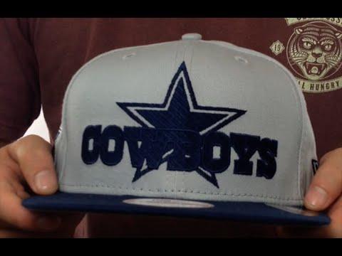 Cowboys 'TRACKSNAP SNAPBACK' Grey-Navy Hat by New Era