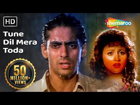 Video Tune Dil Mera Toda Kahi (HD) | Sanam Bewafa Songs | Salman Khan | Chandni | Lata Mangeshkar download in MP3, 3GP, MP4, WEBM, AVI, FLV January 2017