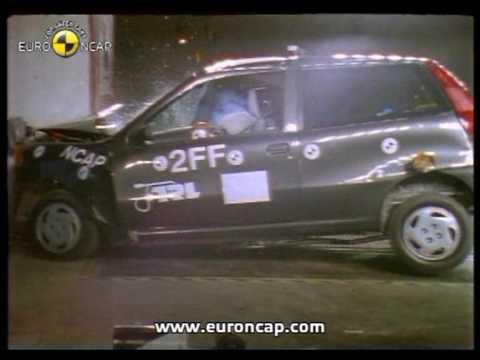 Fiat Punto euroncap çarpışma / güvenlik testi videosu