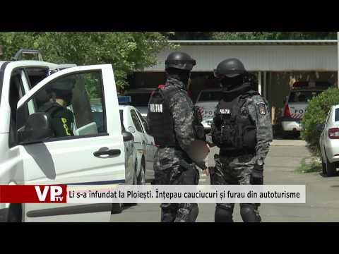 Li s-a înfundat la Ploiești. Înțepau cauciucuri și furau din autoturisme