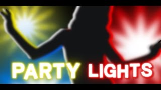 Party Lights YouTube video