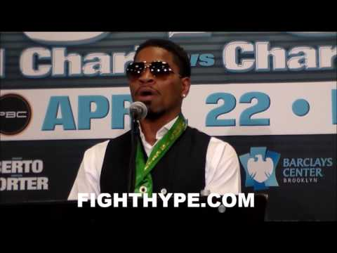 SHAWN PORTER VS. ANDRE BERTO FULL OFFICIAL POST-FIGHT PRESS CONFERENCE (видео)