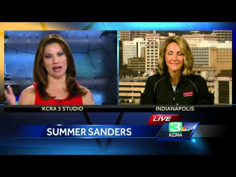 Summer Sanders on eating healthy