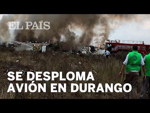Milagro en Mexico: más de 100 personas sobreviven a accidente aéreo (VIDEO)