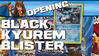 The EXcellent Magic of Friendship - Opening a Pokemon TCG Black Kyurem Evolutions 3-Pack Blister! by Flammable Lizard