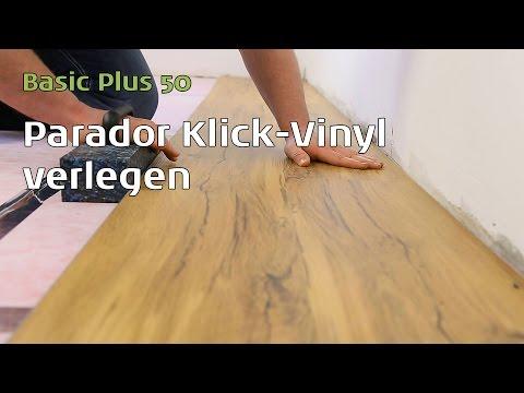 Parador Vinylboden verlegen