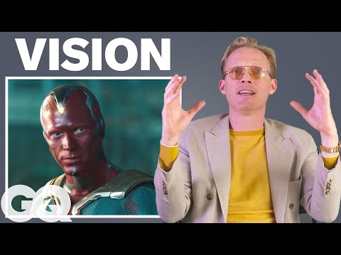 Paul Bettany Breaks Down His 8 Most Iconic Characters | GQ