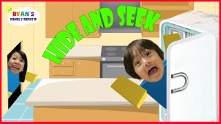 Family Game Night! Let's Play Roblox Hide and Seek Extreme with Ryan's Family Review
