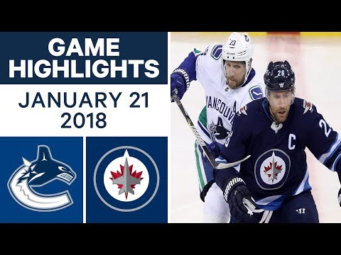 Video: NHL game in 4 minutes: Canucks vs. Jets