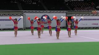 "Nonton ""JETS Blue"" freshman team of JETS, in ALL JAPAN CHEER DANCE CHAMPIONSHIP 2017 Film Subtitle Indonesia Streaming Movie Download"