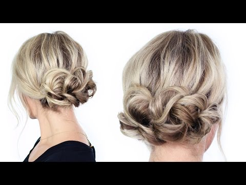 Simple Holiday Updo