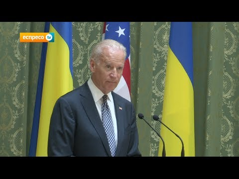joseph - Vice-president Joseph Biden arrived in Kyiv to meet with Acting Prime Minister Arseniy Yatsenyuk and show USA support for Ukraine.