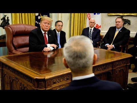 USA: Zollstreit mit China - Trump und der »größte Han ...