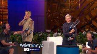 Video Justin Bieber Funny Moment Ellen 2016 MP3, 3GP, MP4, WEBM, AVI, FLV Juni 2018