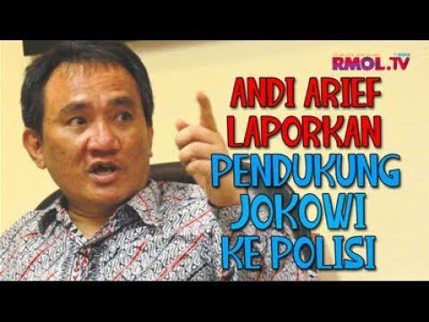 Andi Arief Laporkan Pendukung Jokowi Ke Polisi