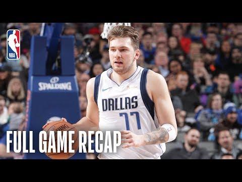 Video: TRAIL BLAZERS vs MAVERICKS | Luka Takes Over Down The Stretch | February 10, 2019