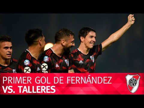 Primer gol de Nacho Fernández vs. Talleres