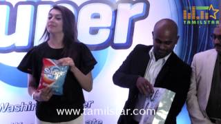 Hansika Motwani Launches Super Washing Powder