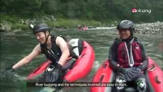 Mungyeong-si South Korea  city photos gallery : Korea Top10-River bugging. A white water rafting activity that originated in New
