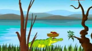 குரங்கும் முதலையும் (Monkey And Crocodile)