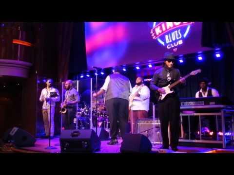 I Want to Get Away - Jason Waters - B.B. King All Star Band - MS Koningsdam January 2017