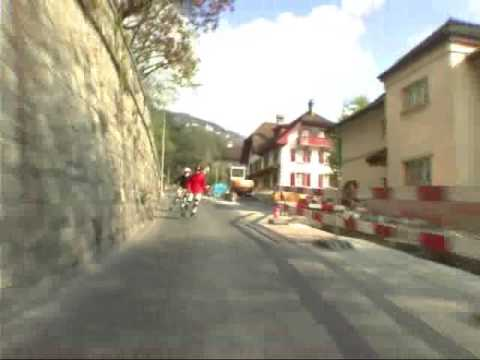 roller - Roller Downhill in Swizerland Filmed by a Mad French.