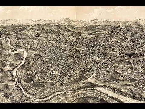 Roanoke Virginia History and Cartography (1891)
