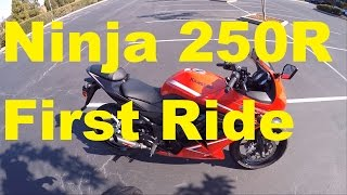 4. First Ride! Is 250CC Enough? - 2012 Kawasaki Ninja 250R