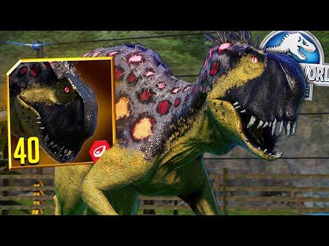 SCORPIUS REX (E750) MAX LEVEL 40?! | Jurassic World - The Game | Ep. 404
