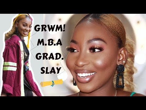 Grwm - Mba Graduation Day Slay | Makeup Look | I Tried A Lot Of Abh Products