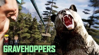 In Which Rob Ziplines to Glory in Far Cry 5 | GraveHoppers Series Premiere