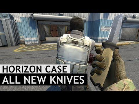 All New Horizon Case Knife Animations | CS:GO