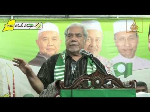 Ucapan Aluan Oleh: Dato' Haji Mustafa Ali - Majlis Pengisytiharan Calon P067 Kuala Kangsar