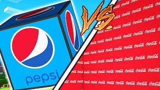 HOW TO BECOME THE RICHEST MINECRAFTER - COKE VS PEPSI LUCKY BLOCK MONEY HUNT