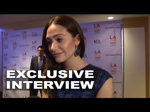 "Comet: Emmy Rossum ""Kimberly"" Exclusive Interview at LA Film Fest"