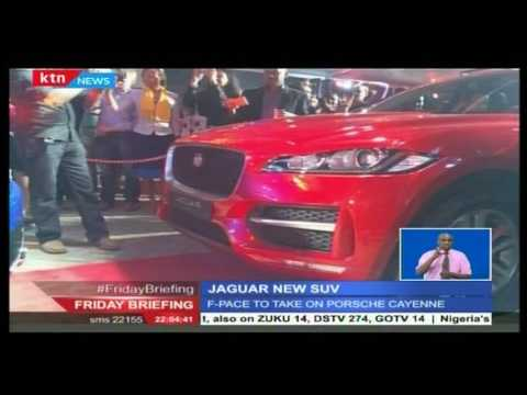 RMA Kenya has unveiled the first jaguar sports utility vehicle dubbed 'f-pace'