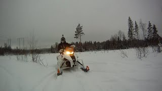 9. VERY FAST SNOWMOBILING M7 162