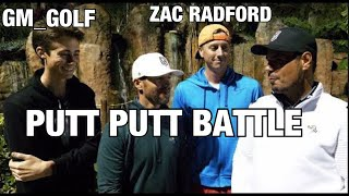 PUTT PUTT BATTLE WITH GM GOLF & ZAC RADFORD / PIRATES COVE