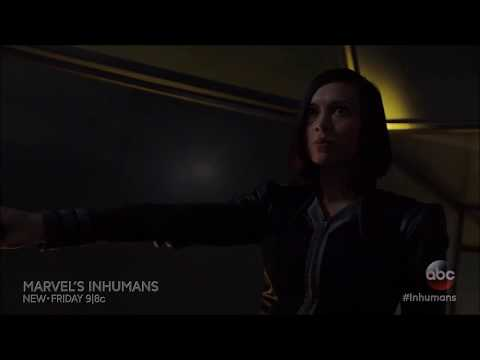 Marvel's Inhumans ABC 1x06 Official Clip  Gorgon and Auran Fight