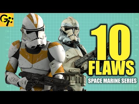 10 FLAWS with the Clone Troopers | BEST SPACE MARINE SERIES
