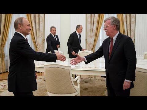 Συνάντηση Μπόλτον-Πούτιν στη Μόσχα
