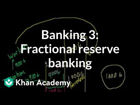 reserve - Learn more: http://www.khanacademy.org/video?v=nH2-37rTA8U Fractional reserve banking and the multiplier effect. Introduction to the money supply.