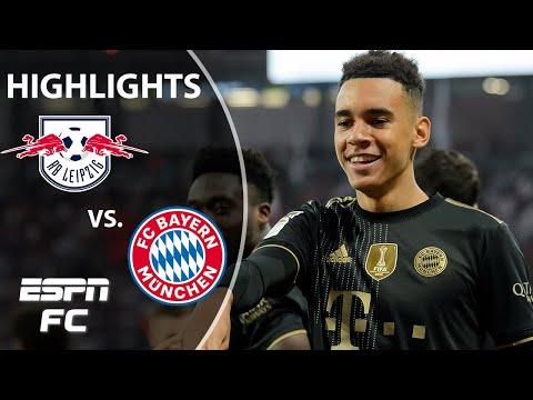Bayern Munich easily dispatches RB Leipzig despite wonder goal | Bundesliga Highlights | ESPN FC