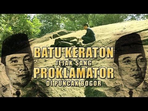 Batu Keraton | Sejarah Presiden ir. Soekarno Hatta | Tugu Utara cisarua LeMirah #6