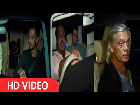 Arjun Rampal,Siddharth Roy Kapur,Sudhir Mishra & Other Celebs At Screening Of Film Fitoor