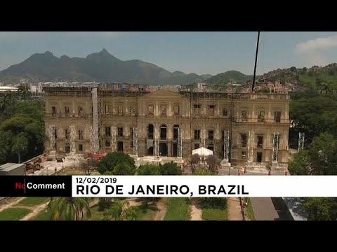 Το Εθνικό Μουσείο της Βραζιλίας αναγεννάται από τις στάχτες του…