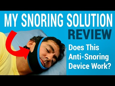 My Snoring Solution Review - Does This Anti-Snoring Chinstrap Work?