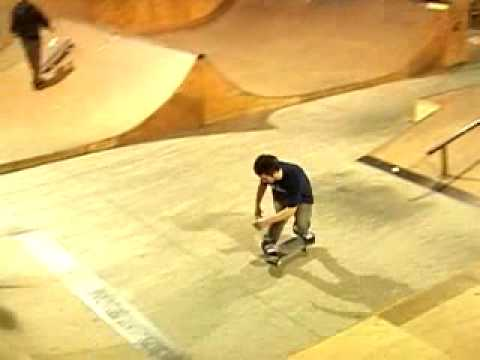 Luc Baslanti session grange skatepark